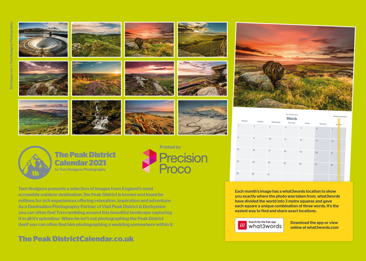 The Peak District Calendar