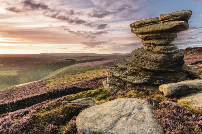The Peak District Calendar August