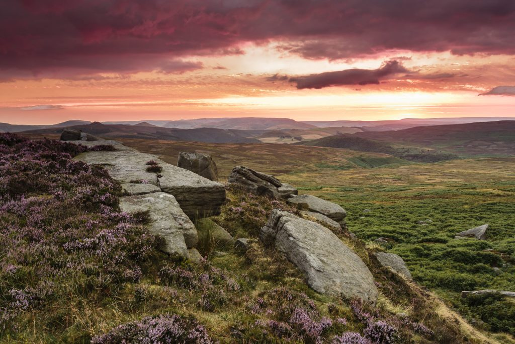 The Peak District Calendar July
